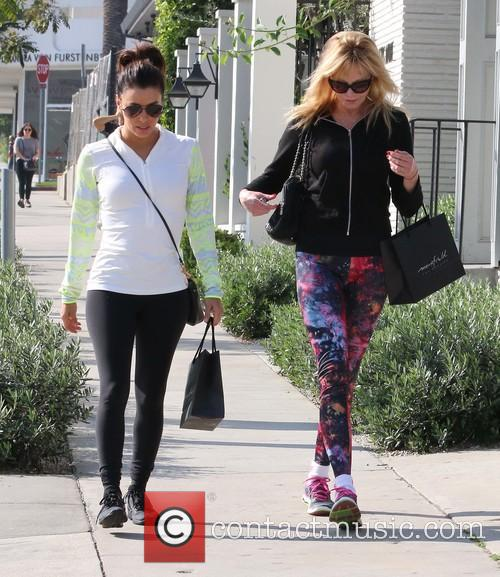 Eva Longoria and Melanie Griffith 3