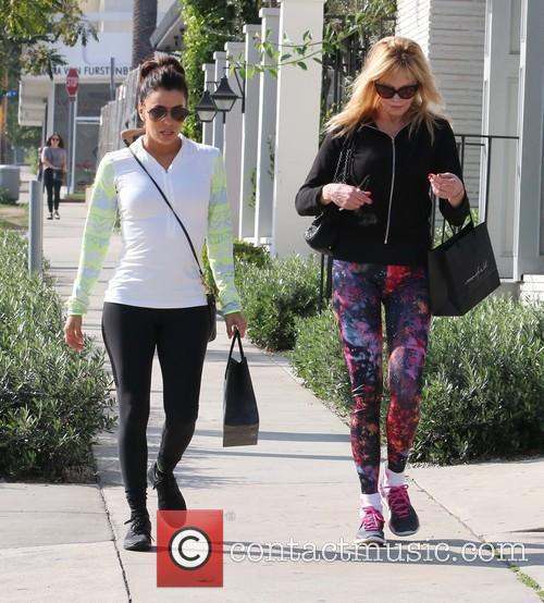 Eva Longoria and Melanie Griffith 4