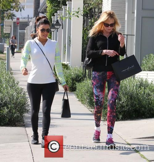Eva Longoria and Melanie Griffith 6