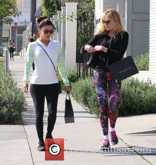 Eva Longoria and Melanie Griffith 7