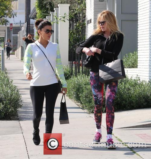 Eva Longoria and Melanie Griffith 8