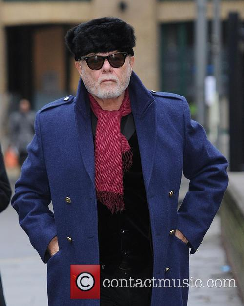 Gary Glitter at Southwark Crown Court