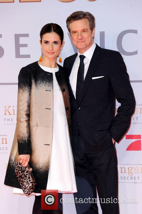 Livia Firth and Colin Firth 4