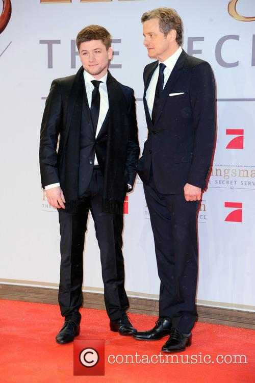 Taron Egerton and Colin Firth 2