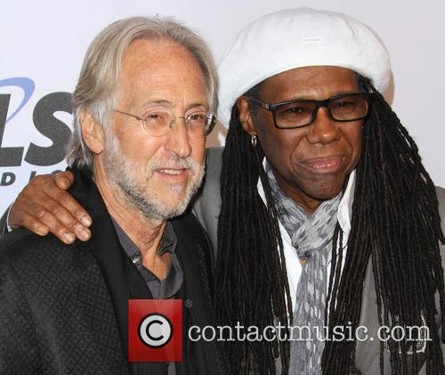 National Academy Of Recording Arts, Sciences President Neil Portnow and Nile Rodgers 2