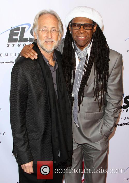 National Academy Of Recording Arts, Sciences President Neil Portnow and Nile Rodgers 1