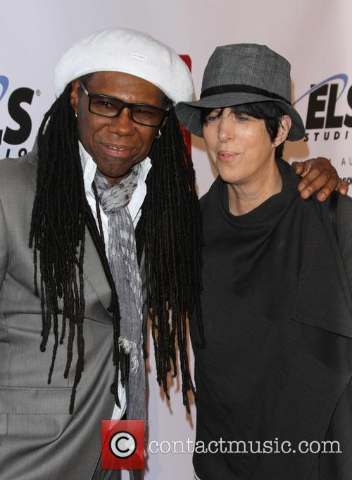 Nile Rodgers and Diane Warren 7