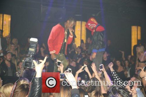 Chris Brown, Sean Kingston and Travis Scott 3