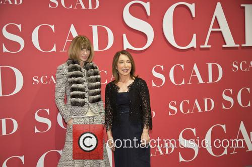 Anna Wintour and Paula Wallace