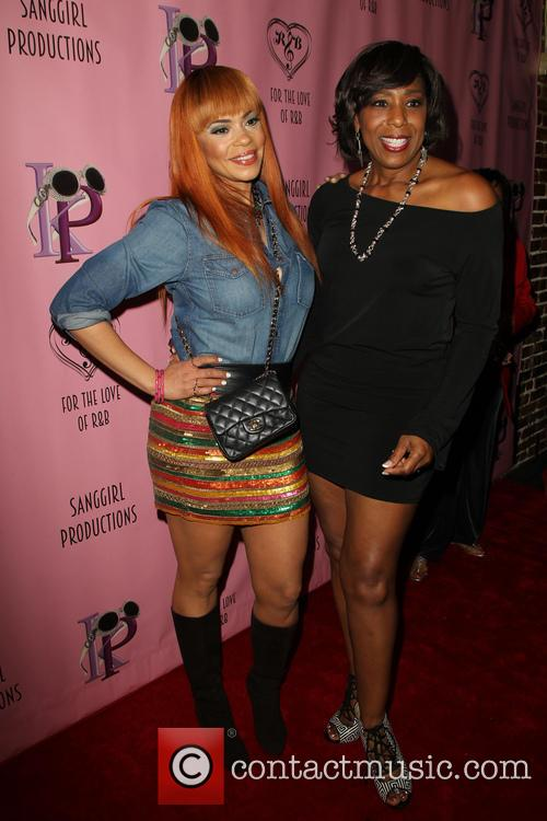Faith Evans and Dawnn Lewis 3