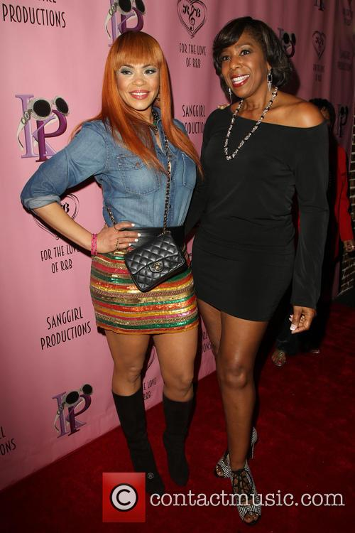 Faith Evans and Dawnn Lewis 6