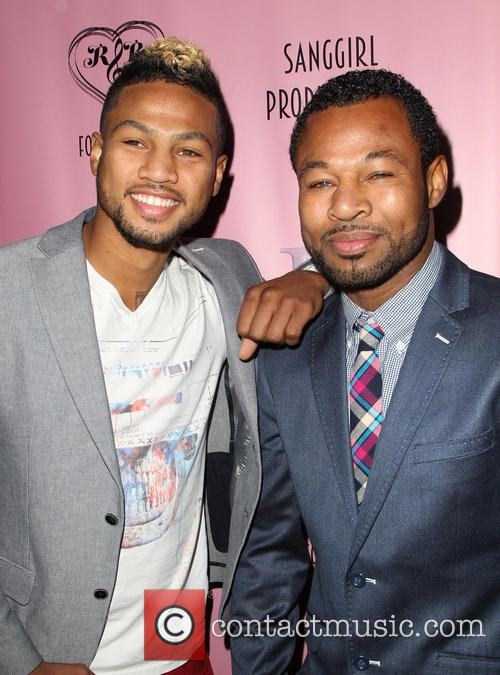 Shane Mosley and Jr. 4