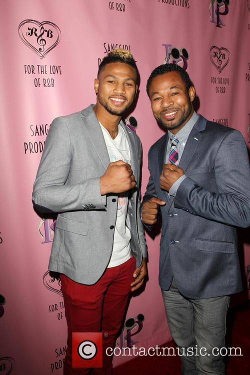 Shane Mosley and Jr. 8