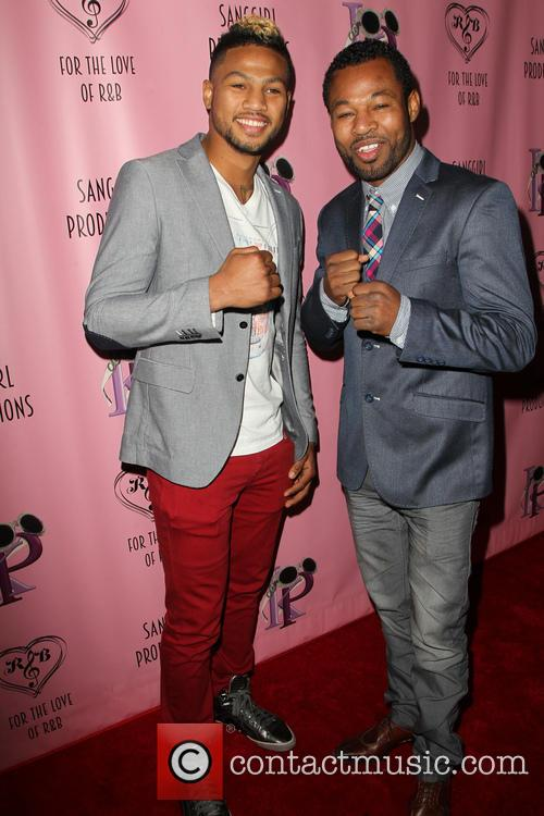 Shane Mosley and Jr. 1