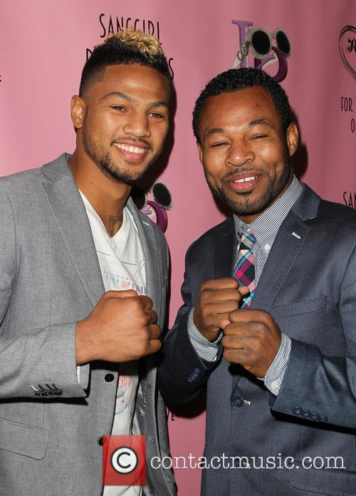 Shane Mosley and Jr. 9