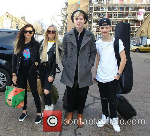 Only The Young, Parisa Tarohmani, Betsey Blue English, Mikey Bromley and Charlie George 11