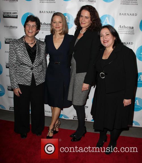 Kathryn Kolbert, Jodie Foster, Debra Spar and Melissa Silverstein 2