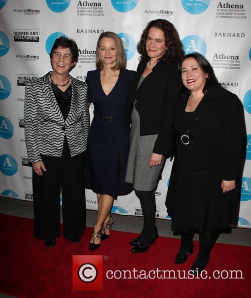 Kathryn Kolbert, Jodie Foster, Debra Spar and Melissa Silverstein 3