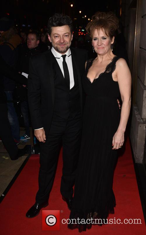 Lorraine Ashbourne and Andy Serkis 2