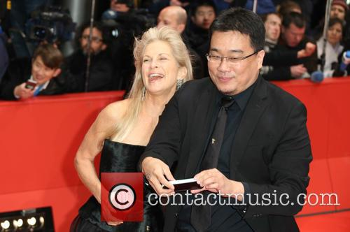 Martha De Laurentiis and Bong Joon-ho 2