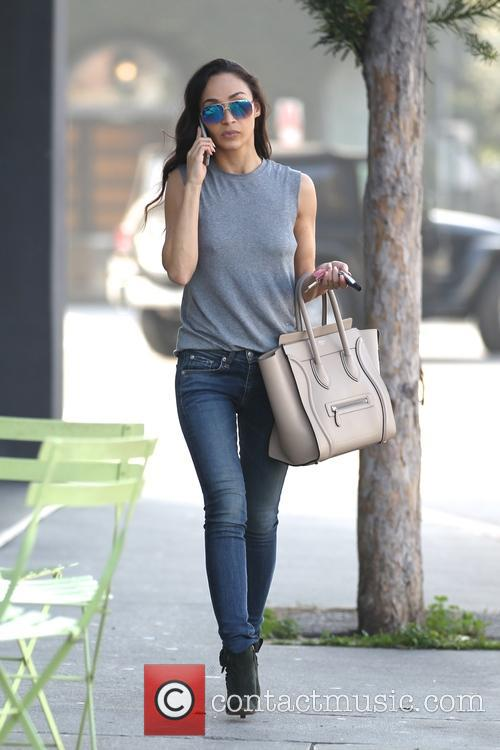 Cara Santana out getting nails done in West...