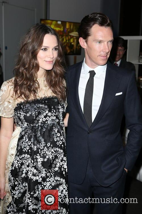 Keira Knightley and Benedict Cumberbatch 7