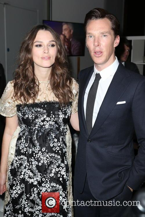 Keira Knightley and Benedict Cumberbatch 8