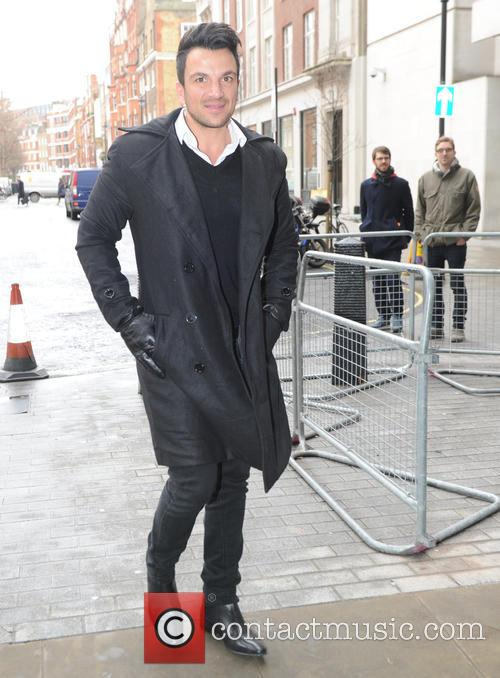 Peter Andre seen out in London