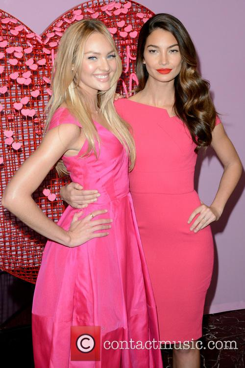 Candice Swanepoel and Lily Aldridge 3