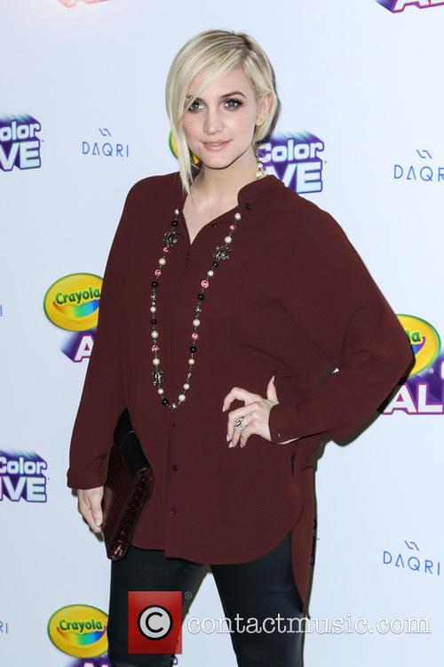 Ashlee Simpson Ross Launches Crayola Color Alive