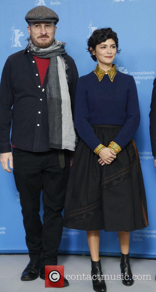 Darren Aronofsky and Audrey Tautou 3