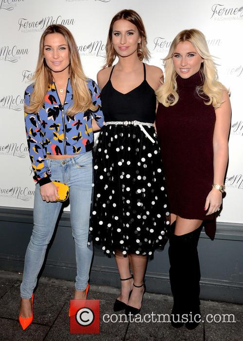 Sam Faiers, Ferne Mccann and Billie Faiers 2