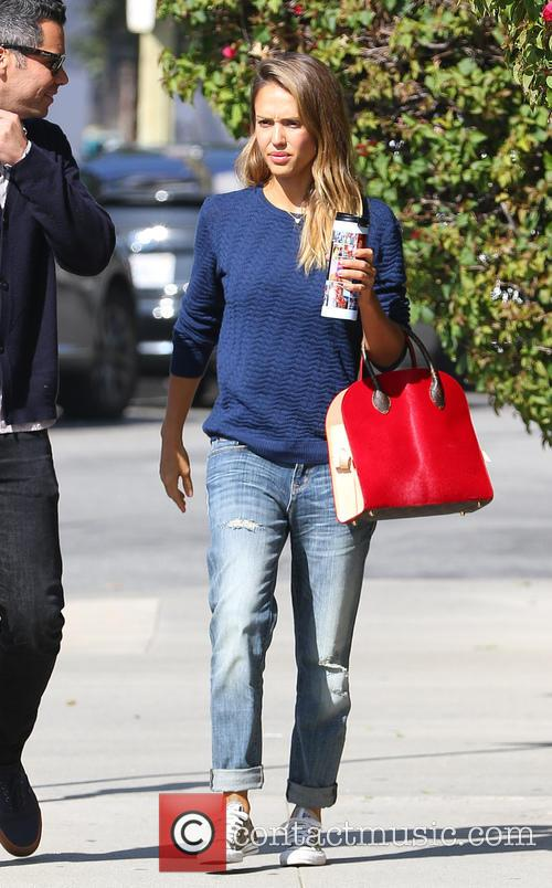 Jessica Alba and Cash Warren 4
