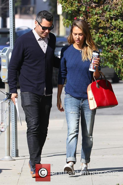 Jessica Alba and Cash Warren 5