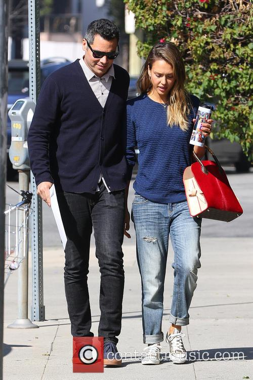 Jessica Alba and Cash Warren 6