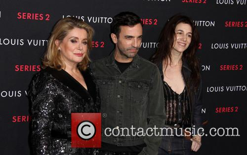 Catherine Deneuve, Nicolas Ghesquiere and Charlotte Gainsbourg 3