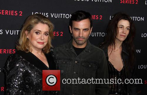 Catherine Deneuve, Nicolas Ghesquiere and Charlotte Gainsbourg 4