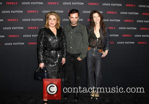 Catherine Deneuve, Nicolas Ghesquiere and Charlotte Gainsbourg 5