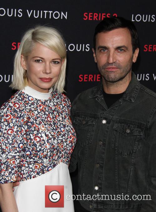 Michelle Williams and Nicolas Ghesquiere 5