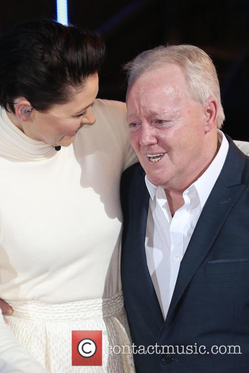 Keith Chegwin and Emma Willis 1