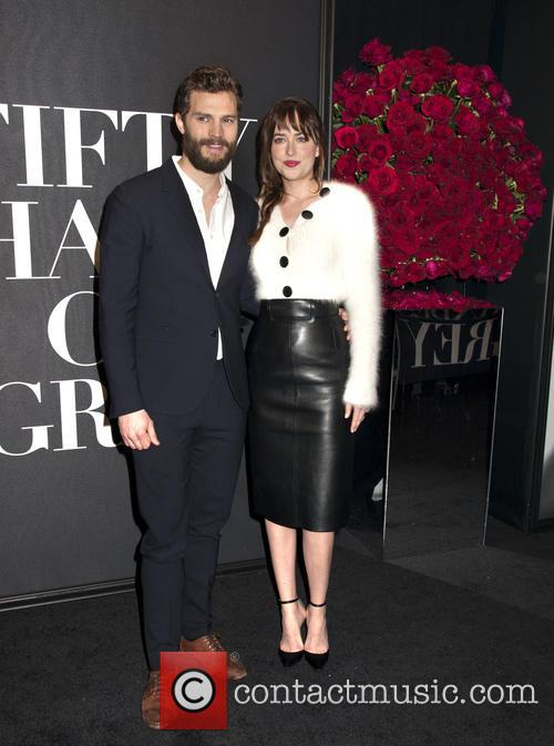 Jamie Dornan and Dakota Johnson 4