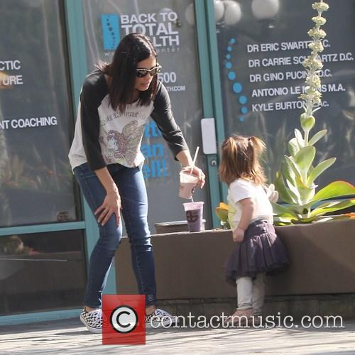 Jenna Dewan and Everly Tatum 6