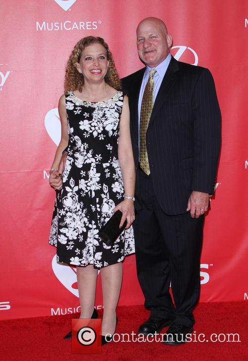 Congresswoman Debbie Wasserman Schultz and Steve Schultz 1