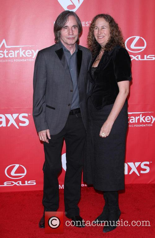 Jackson Browne and Dianna Cohen 2