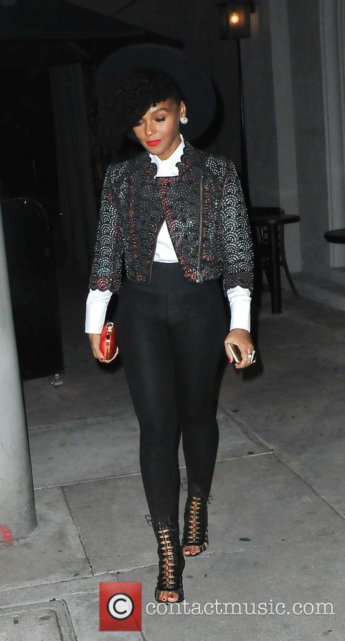 Janelle Monae attends L.A. Reid Grammy Party at...