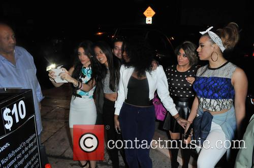 Fifth Harmony attends the L.A. Reid pre-Grammy party...
