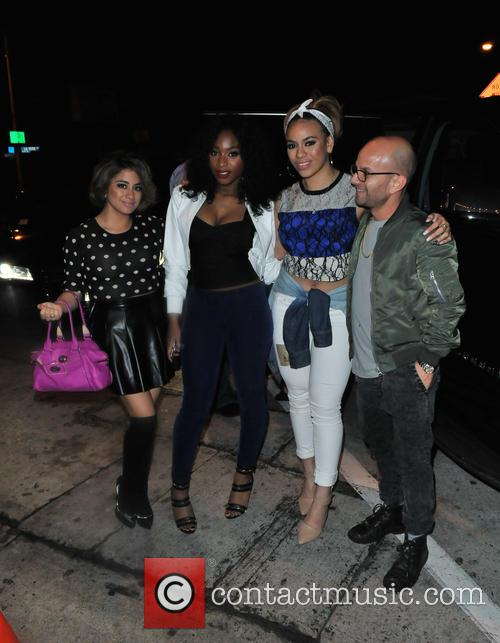Fifth Harmony, Ally Brooke Hernandez, Normani Kordei and Dinah Jane Hansen 1