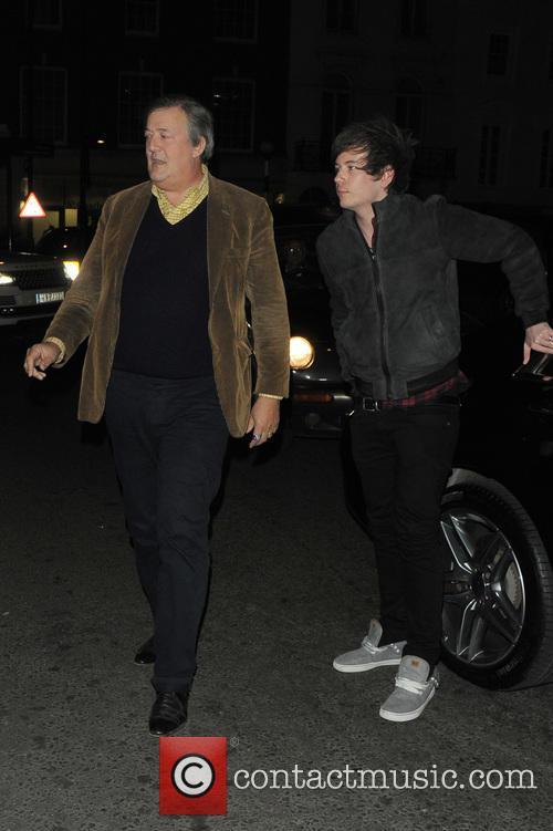 Elliot Spencer and Stephen Fry 2