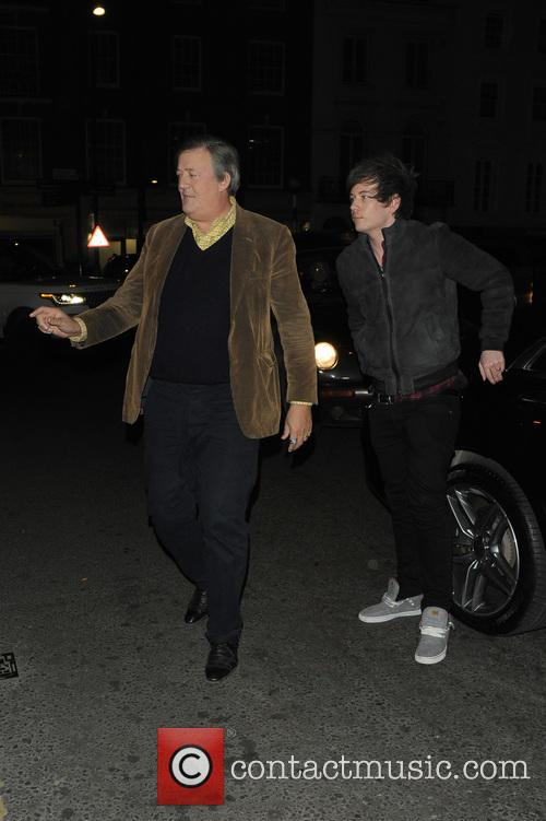 Elliot Spencer and Stephen Fry 1