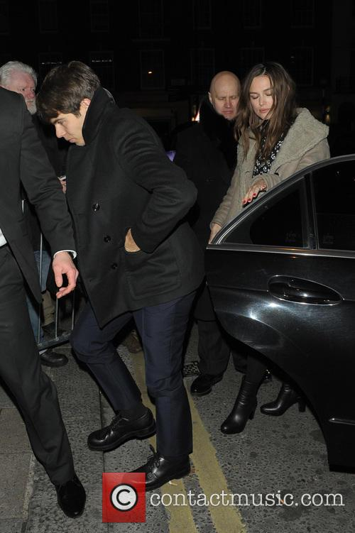 James Righton and Keira Knightley 2